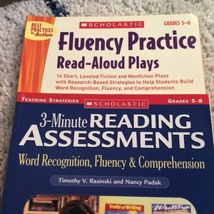 Fluency and Reading Assessment book bundle